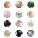 Set perły ilustracji
