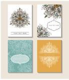 Set perfect wektor karty szablony Ideał dla Save data Zdjęcie Royalty Free