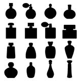 Set of perfume icons,  illustration Royalty Free Stock Images