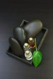 Set of perfume oils Stock Image