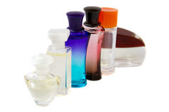 Set of perfumes Royalty Free Stock Photo