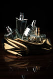 Set of perfumes Royalty Free Stock Images