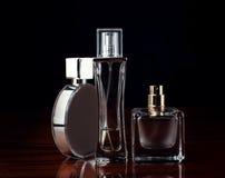 Set of perfumes Royalty Free Stock Photos