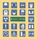 Set of Personal Protection Equipment (PPE) Royalty Free Stock Photography