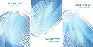 Set pf Hi-tech backgrounds Royalty Free Stock Image