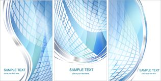 Set pf Hi-tech backgrounds Royalty Free Stock Photography