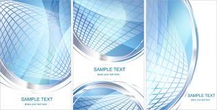 Set pf Hi-tech backgrounds Stock Photo