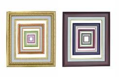 Set of photo frames. Stock Photo