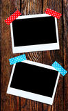Set of photo frames Stock Photography