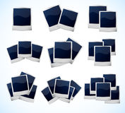Set of photo frames. This is file of EPS10 format Royalty Free Stock Image