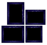 Set of photo frames. Royalty Free Stock Photo