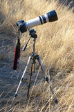 A set of photographic equipment Royalty Free Stock Photo