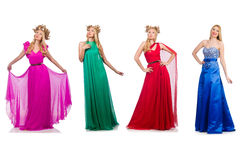 Set of photos in fashion concept Royalty Free Stock Photo