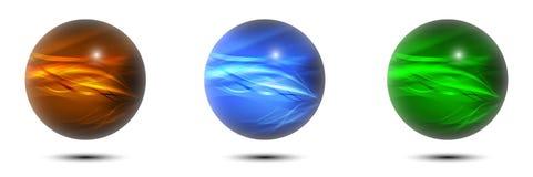 Set piłki w RGB Obraz Royalty Free