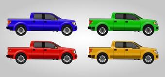 Set pickups Obrazy Royalty Free