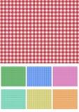 Set picnic fabric Stock Photos