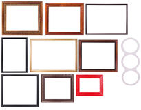 Set Of Picture Frame Royalty Free Stock Images