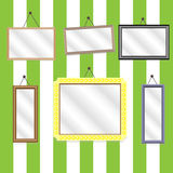 Set picture frames Stock Image