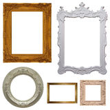Set of picture frames Stock Images