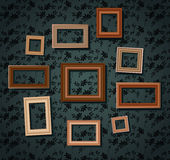 Set of picture frames Stock Photo