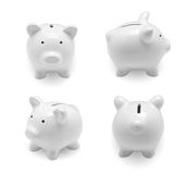 Set of piggy banks Royalty Free Stock Images