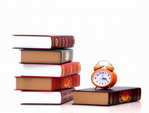 Set a pile of books Royalty Free Stock Image