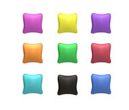 Set Of Pillows Royalty Free Stock Images