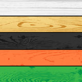 Set pine wood board background Royalty Free Stock Image