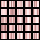 Set of pink gradient. Rose color gradient collection. Vector. Set of pink gradient. Rose color gradient collection. Vector EPS 10 Stock Illustration
