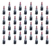 Set of pink lipstick Royalty Free Stock Images