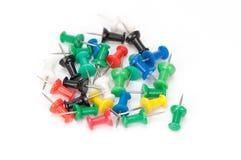 Set of pins Stock Photos