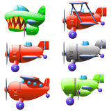 Set planes Stock Image