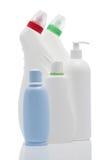Set of plastic bottles Stock Image