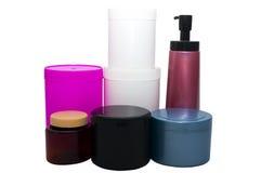 Set of plastic Stock Photo