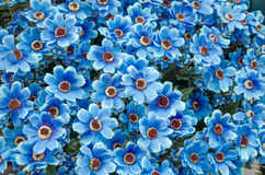 Set of  plastic flower Royalty Free Stock Image