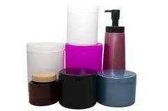Set plastikowe pojemność Obrazy Stock