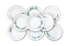 Set of plates Royalty Free Stock Photo