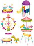 Set of playground stock illustration