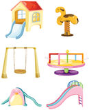 Set of playground Stock Images