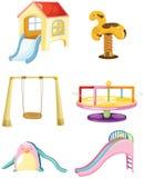 set of playground royalty free illustration