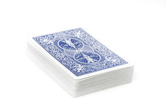 A set of playing cards Stock Photography