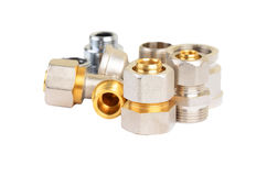 Set of plumbing fitting Royalty Free Stock Photography