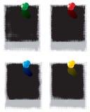 Set of  Polaroid film blankы Royalty Free Stock Photography
