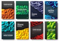 Set of polygonal ornament illustration concept. Geometric art, technology, poster, book, brochure, abstract, ottoma vector illustration