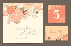 Free Set Polygraphy To Celebrate The Wedding. Royalty Free Stock Photo - 38577905