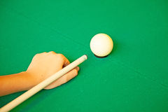 Set of pool balls. Pool ready to start the game royalty free stock images