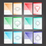 Set of poster, flyer, brochure design templates Royalty Free Stock Photography