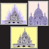 Set Postmark Obrazy Royalty Free