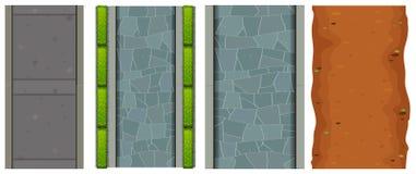 Set powietrzne drogi ilustracji