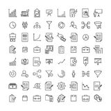 Set of premium freelance icons in line style. Stock Photography